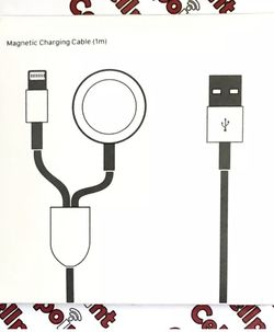 iPhone, iPad And Apple Watch Charger, 2 In 1 for Sale in Irvine,  CA