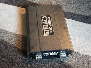 CAR AUDIO AMPLIFIER MMATS PRO AUDIO HD4000. 1D COMPETITION 4OOO WATTS RMS for Sale in Everett, WA