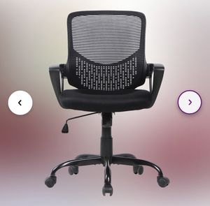 Ergonomic mesh back student work office school zoom online class classroom desk chair for Sale in Ontario, CA