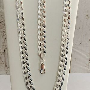 Cuban chain and bracelet 925 sterling silver for Sale in Los Angeles, CA