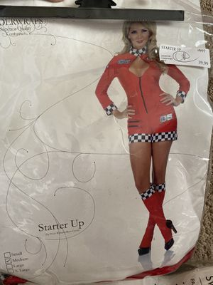 Sexy women's race car driver costume Medium for Sale in Danbury, CT