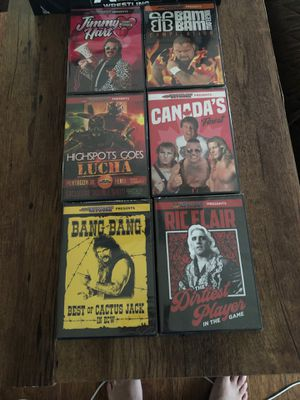 Pro wrestling crate exclusive DVDs for Sale in Spring Hill, FL