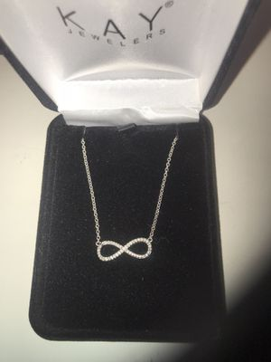 KAY Jewelers DIAMOND infinity necklace for Sale in Irvine, CA