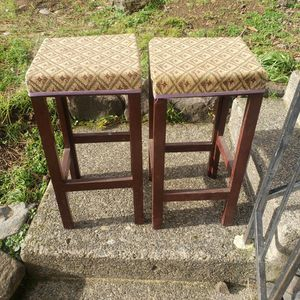 2 bar stools are very durable. for Sale in Vancouver, WA