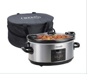 Crock-Pot 7 quart Slow Cooker Cook and Carry Digital Countdown Olla de Cocción Lenta con Bolso para Llevar SCCPVLF712 for Sale in Miami, FL