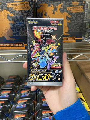 Pokemon TCG Card Shiny Star V Japanese Booster Box 10 Sealed Packs English 25th Anniversary Set! Charizard for Sale in Milpitas, CA