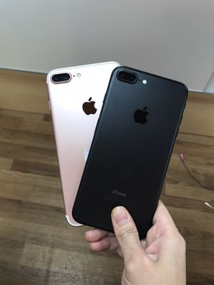 Factory unlocked Iphone 7 Plus 256GB (available: rose gold color) - $400 each, firm price for Sale in Renton, WA
