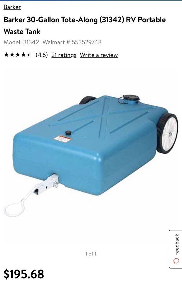 Baker 30 gallon RV black water tank BRAND NEW NEVER USED