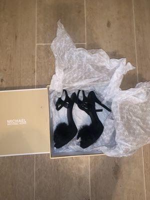 Michael Kors faye rabbit fur heels for Sale in Boynton Beach, FL