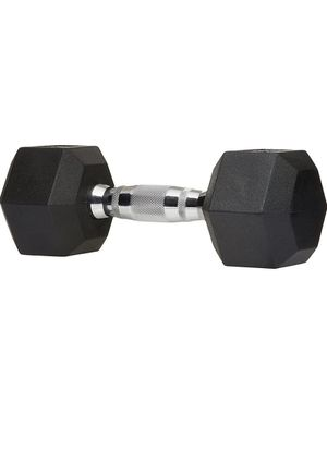 40 lb Rubber Encased Hex Hand Dumbbell Weights for Sale in Fountain Valley, CA