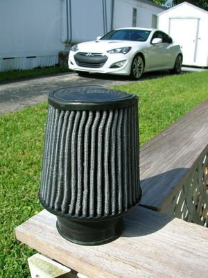 """Injen X-1017-BB Blue Cold Air Intake Dry Filter Washable 3"""" Inlet 6"""" Tall for Sale in Sunrise, FL"""