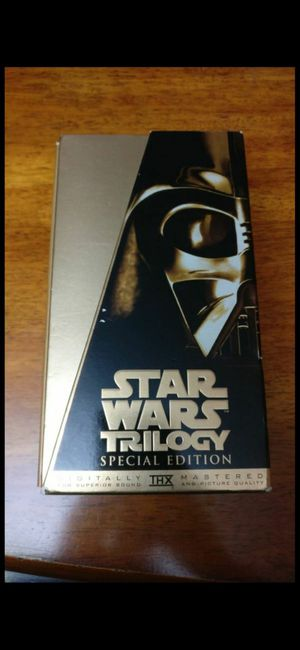 Star Wars Trilogy Movies Special Edition for Sale in San Diego, CA
