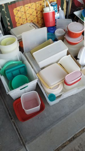 Tupperware, food & beverage storage containers for Sale in Henderson, NV