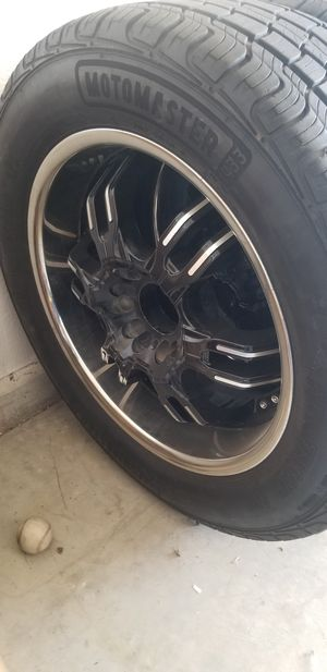 """20"""" rims and tires for Sale in Tucson, AZ"""