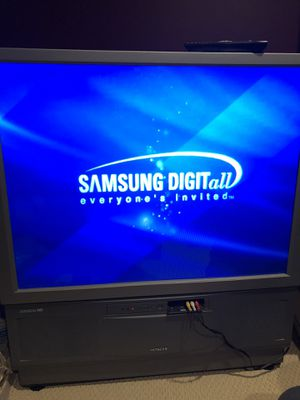 Free Hitachi DLP UltraScan HD TV. for Sale in Aldie, VA