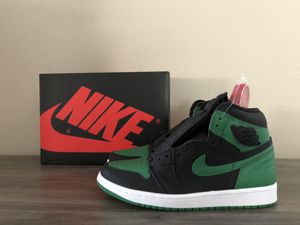 DS Jordan Retro 1 High OG Pine Green 2.0 sz 9 for Sale in Jurupa Valley, CA