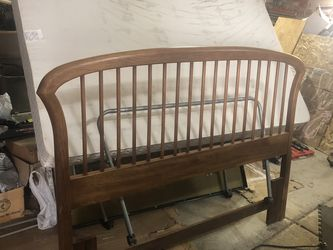 Queen Headboard, Box Spring and Frame for Sale in Bountiful,  UT