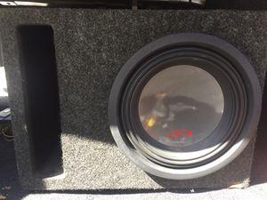 "Alpine 10"" subwoofer with Alpine amplifier. for Sale in Decatur, TX"