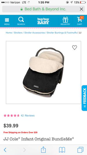 Bundleme car seat cover for Sale in Fort Plain, NY