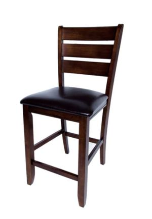 Two solid hardwood stools for Sale in Boston, MA