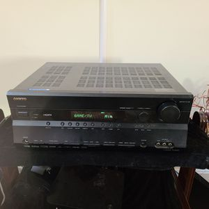 Onkyo receiver With 2 Polk Towers & MTX sub for Sale in Clinton, MD
