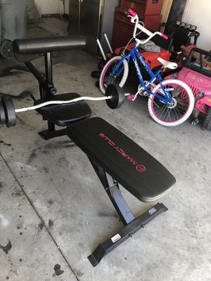 Adjustable weigh bench for Sale in San Jacinto, CA