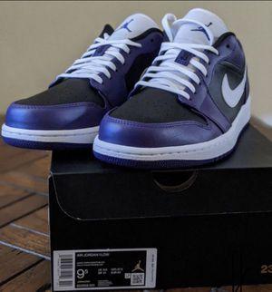 Nike Air Jordan 1 Low Court Purple for Sale in Los Angeles, CA