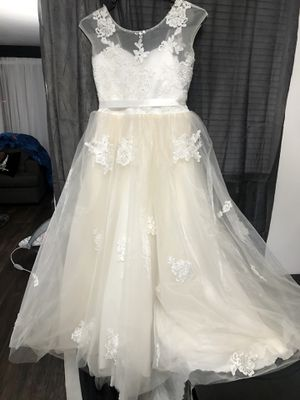 Ivory Flower Girl Dress XL 14/16 for Sale in Chino, CA