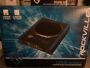 Rockville Under the seat subwoofer for Sale in Monroeville, PA