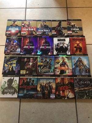 4K movies for Sale in Los Angeles, CA