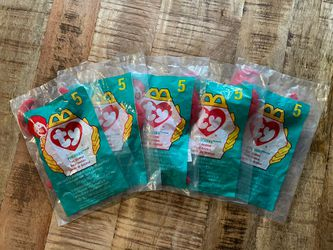 McDonald's Ty Beanie Baby #5 Pinchers Lot Of 5 for Sale in Sumner,  WA
