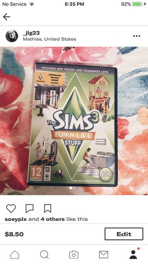 The Sims 3 Town Life for Sale in Harrisonburg, VA