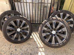 2008 honda accord v6 Black Rims for Sale in Baltimore, MD
