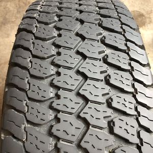 Set of 2 Used 265/70R17 Goodyear Wrangler AT-S 85% Life for Sale in Oak Park, IL