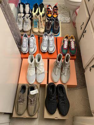 Sneaker Heat Sizes 9-11 NO TRADES READ DESCRIPTION for Sale in Fullerton, CA