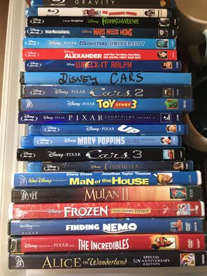 Disney dvd and Blu Rays for Sale in Temple City, CA