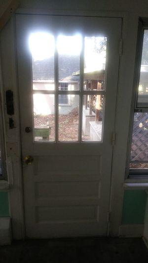 Exterior solid wood door for Sale in Chesapeake, VA