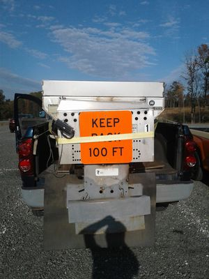 Sander spreader 2.5 and snow plow 8 ft for Sale in Gainesville, VA
