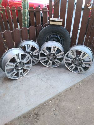 "Toyota tundra wheels 20"" for Sale in Phoenix, AZ"