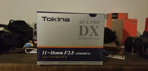 Tokina Wide Angle Lense 11-16mm f/2.8 for Sale in Brooklyn, NY