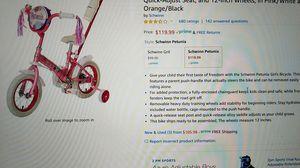 "Schwinn Petunia steerable kids bike 12"" for Sale in San Jose, CA"