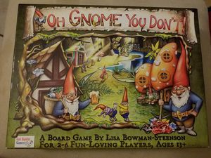 Oh gnome you don't board game for Sale in Austin, TX