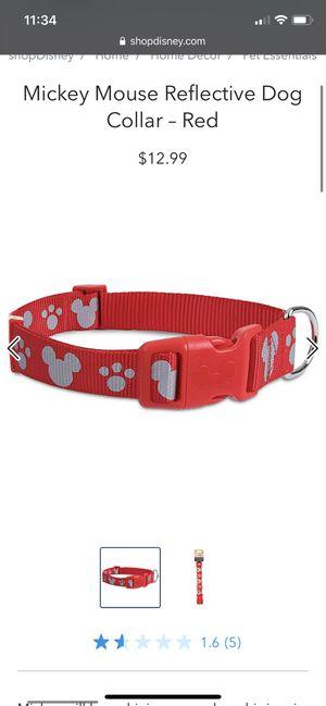 Disney reflective dog collar for Sale in Santa Ana, CA