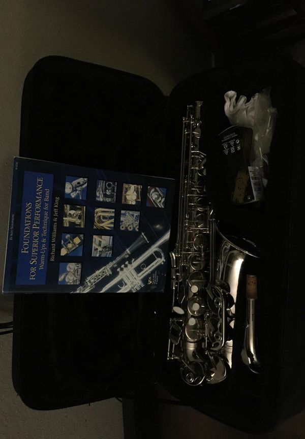 Mirage Saxophone (Chrome) inc/cleaning kit