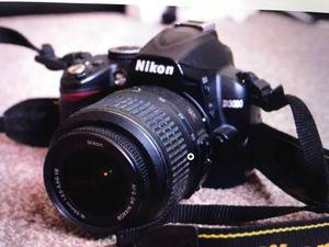 Nikon DSLR Camera with 2 Lenses for Sale in Boston, MA