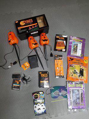 halloween stuff for Sale in Dunlap, IL