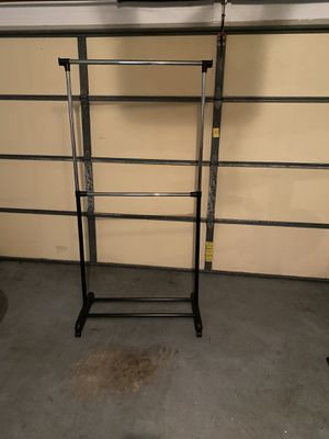 Doubled clothes rack for Sale in Orlando, FL