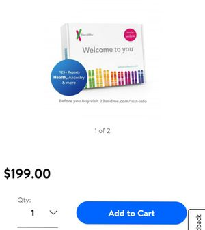 23&me kit ancestry/health for Sale in Pomona, CA
