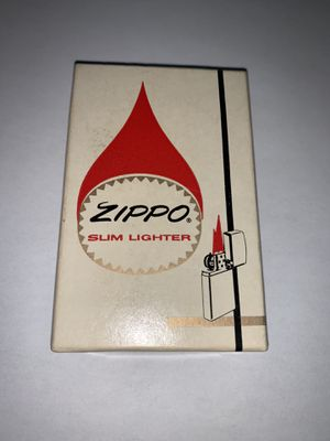 1956 zippo lighter with box and certificate brand new in box for Sale in King of Prussia, PA