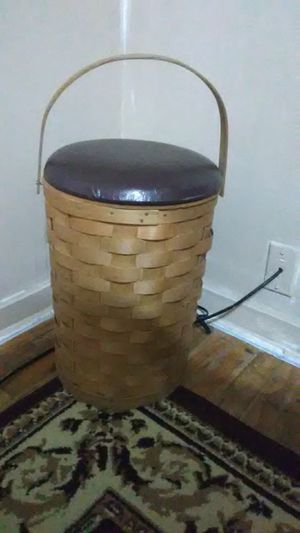 Ice chest stool,woven for Sale in Tulsa, OK